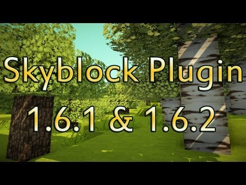 How to use and install Skyblock plugin for Minecraft! 1.6.2