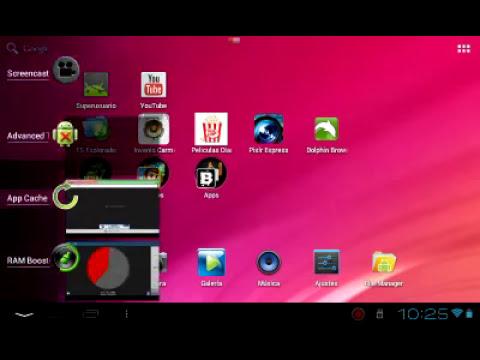 Mejora el rendimiento de tu tablet Android