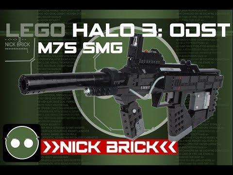 LEGO Halo 3: ODST M7S/Caseless SMG Life Size