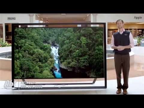 Samsungs Largest TV - 110 Inch 3D UHD 4K LED Smart Frameless HDTV - UN110S9