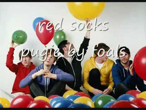 red socks pugie by foals