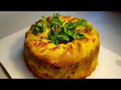 Безумно вкусный и простой пирог с мясом и грибами. Пирог для любимого мужа!!!