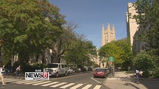 Yale student falls 4 stories from dorm