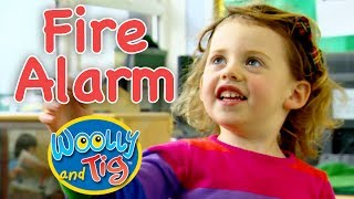 Woolly and Tig - Into the Fire Engine | The Fire Alarm
