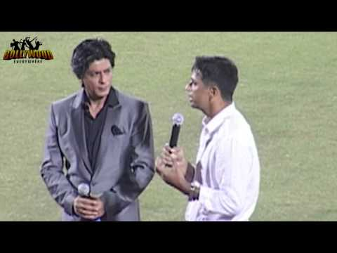 Shahrukh Khan and Rahul Dravid Dance at TOYATA UNIVERSITY CRICKET CHAMPIONSHIP- Opening Cermony