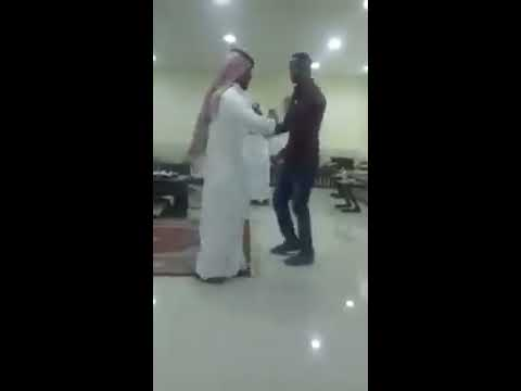 Arab dancing to Ethiopian music