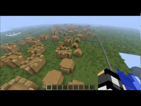 Minecraft Clay Soldier Bigger Village