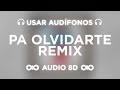 ChocQuibTown, Zion & Lennox, Farruko   Pa Olvidarte (Remix) Ft. Manuel Turizo (AUDIO 8D)