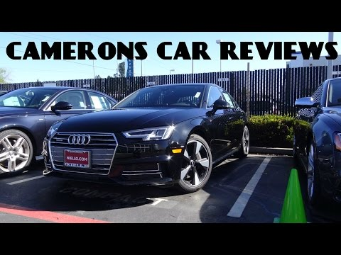 2017 Audi A4 S-Line 2.0 L Turbo 4-Cylinder Review | Camerons Car Reviews