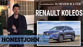 Car review in a few   2019 Renault Koleos - a big non-SUV that nobody asked for