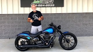 ⭐️ Harley-Davidson Softail Breakout Custom Bike by The Bike Exchange review