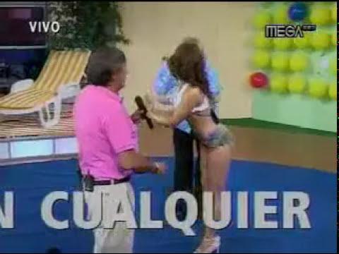 baile impresionante de modelo de tv chilena 360p
