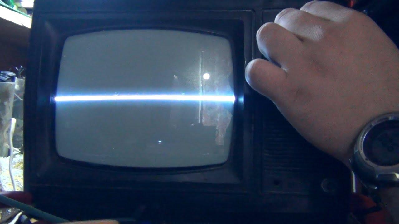 Мини TV САПФИР, хороший ремонт с плохим концом + AV мод.