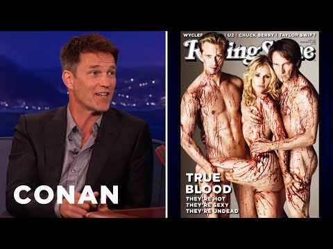 "Stephen Moyer Relives The ""True Blood"" Photo Shoot"