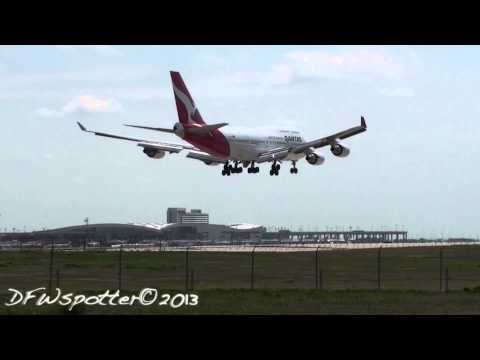 Crazy Day At Dallas/Fort Worth international Airport HD