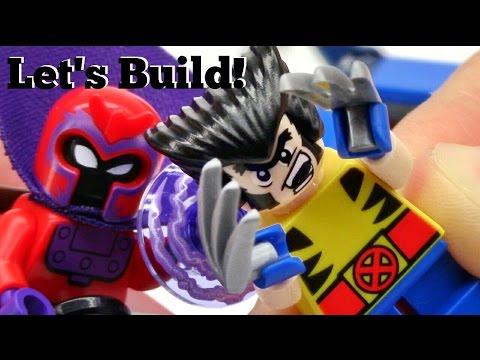 LEGO Mighty Micros: Wolverine vs. Magneto 76073 - Let's Build!