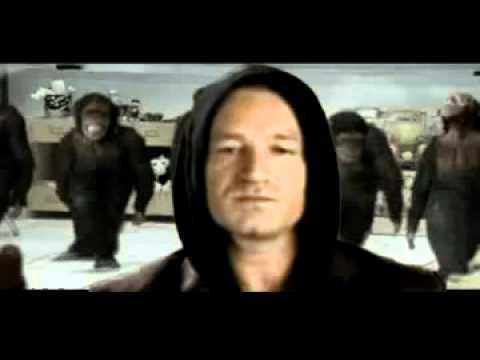 Bono from U2 supports Malema