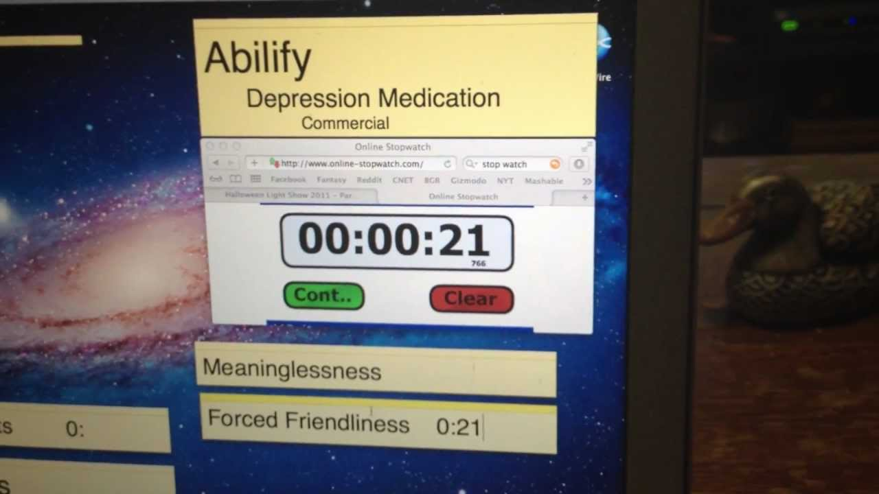 abilify by itself for depression