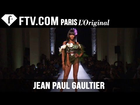 Jean Paul Gaultier Show Spring summer 2015 | Paris Couture Fashion Week | Fashiontv video