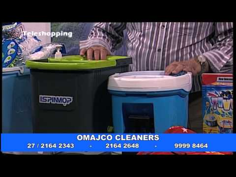 Omajco Cleaners - Spin Mop