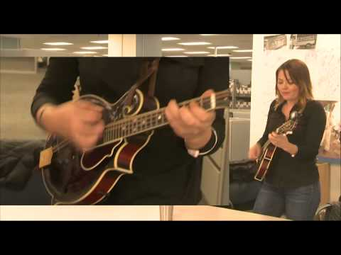 Della Mae Music Band at VOA Deewa Radio Washington, DC.