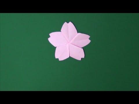 「さくら」折り紙「Cherry tree」origami
