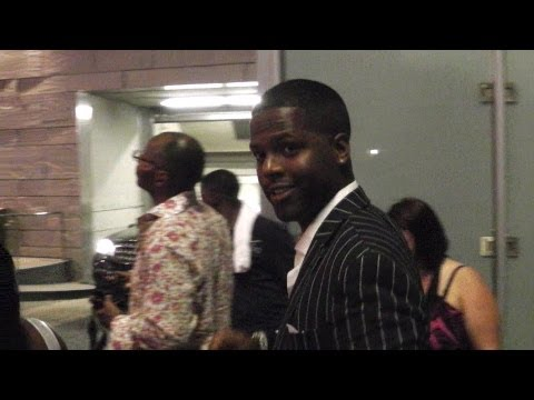 AJ Calloway after BET awards in LA