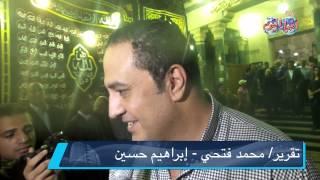 خالد سرحان في عزاء سعيد صالح