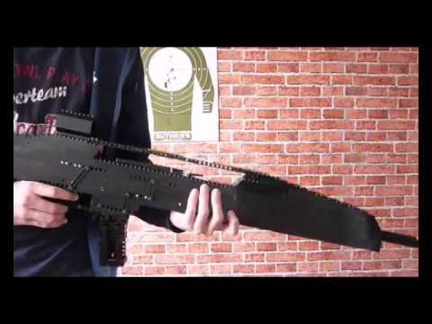 Lego XM8 (working) + Instructions