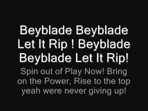 Beyblade Metal Fusion Theme Song Lyrics Full English