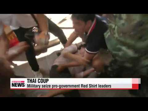Thai troops seize Red Shirt leaders