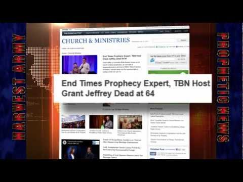 SUBSCRIBE FOR PREDICTIONS THAT MAY AFFECT YOU - - May 16, 2012 Grant Jeffrey Ph.D MA, one of the most powerful world renowned prophecy scholar has died: This passing is on the heels of.