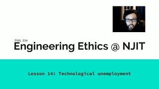 Lesson 14: Technological unemployment