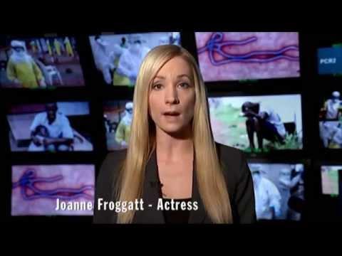 Ebola Crisis Appeal - Joanne Froggatt helps #StopTheSpread