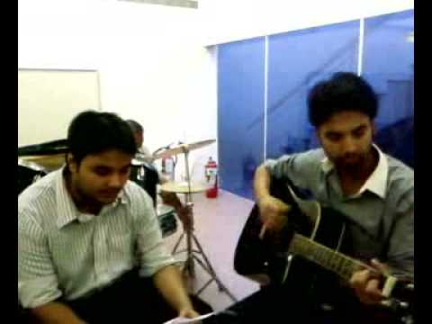 Nishant Mishra and Praveen Naik jamming on woh lamhe- acoustic...