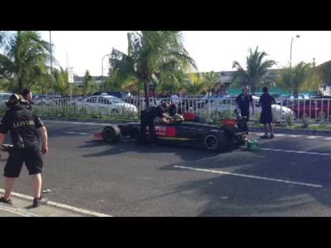 Lotus F1 Team Manila Speed Show feat. Marlon Stockinger