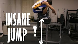 INSANE VERTICAL JUMP