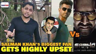 WAR vs SAAHO vs RACE 3 | Salman Khan's Biggest Fan GETS ANGRY on Salman Khan | Teaser Review