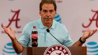 Nick Saban Previews Western Kentucky Week, Talks More About the Quarterbacks