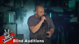 Παναγιώτης Παπαγεωργίου - Frozen | 7o Blind Audition | The Voice of Greece