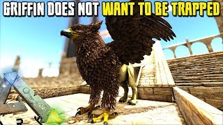 THIS GRIFFIN DOES NOT WANT TO BE TRAPPED !! | MYTHICAL BEASTS | ARK SURVIVAL EVOLVED [EP12]