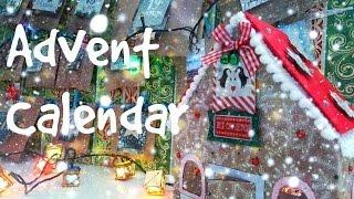 DIY Детский Адвент Календарь/Быстро и легко/Tutorial Advent Calendar