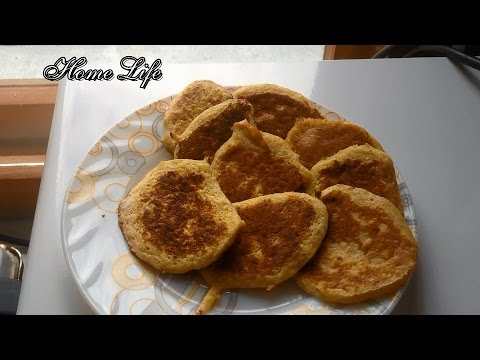 Диетические банановые оладьи/Блюдо за 5 минут/Правильное питание