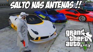 GTA 5 Online (PC) - Voltando as Origens: Saltando nas Antenas !