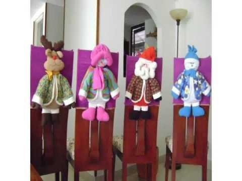 Weihnachtsdekoration für stühle
