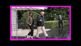 Besuch in houston: melania trump erntet spott für high-heels-outfit[BIKINI]