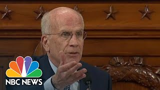 Welch tells Jim Jordan: Trump 'Is Welcome To Take A Seat Right There' | NBC News