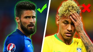 World Cup 2018 Haircuts - Best and Worst Footballers Hairstyles