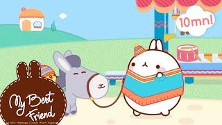 Molang Compilation #8 - Travel Compilation - #MyBestFriend - Cartoon for kids