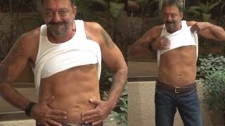 Sanju Baba Flaunts '6-pack' After Coming Out on Furlough | Bolly2box